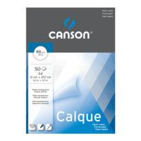 Pauzovací papír, pauzák Canson Calque A4, 90 g/m2 (50 listů)