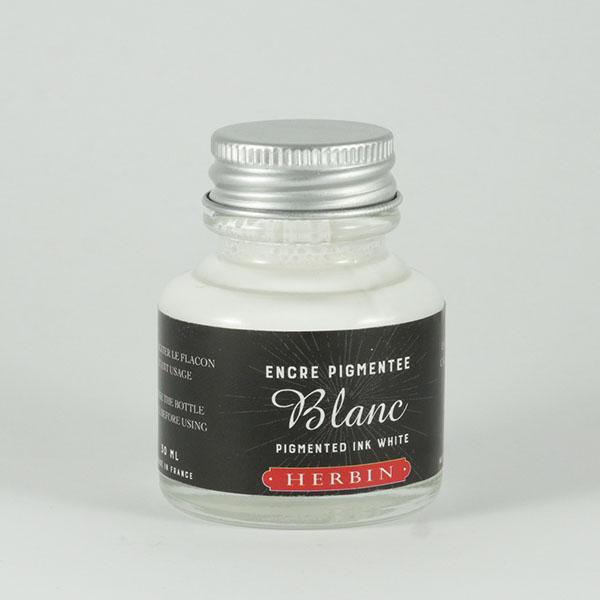 Pigmentový bílý inkoust Herbin