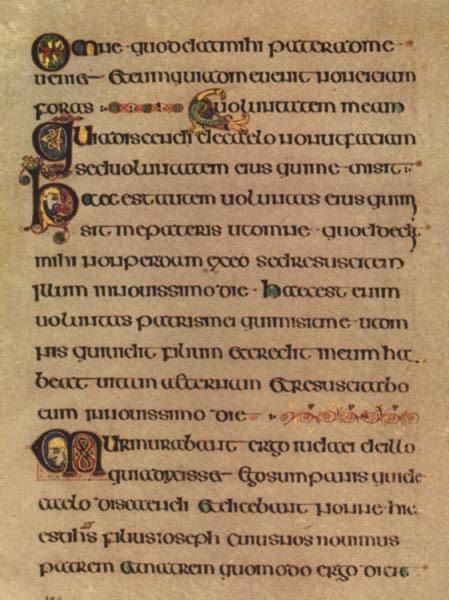 Kniha z Kellsu, zdroj: en.wikipedia.org