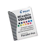 Bombičky do pera Pilot Parallel Pen, mnohobarevné, 12 ks