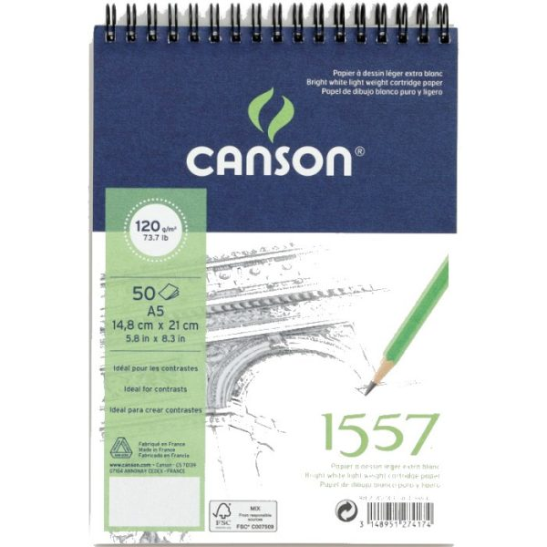 Canson 1557 skicák A5