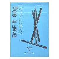 Skicák Clairefontaine GrafIt 90 g/m2