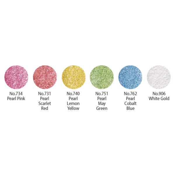 Paleta barev Kuretake Gansai Tambi Pearl Colors